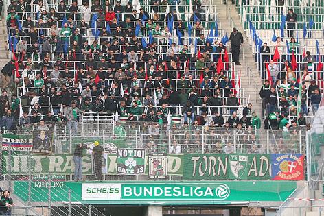 Fans des SK Rapid Wien