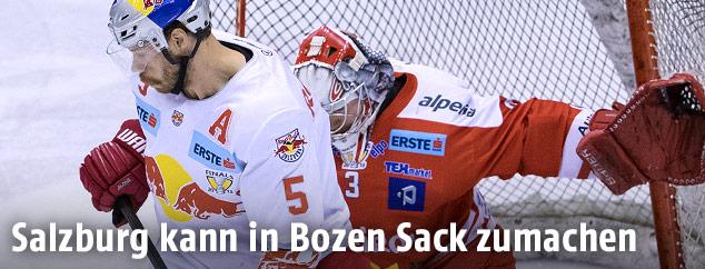 Thomas Raffl (EC RBS) und Pekka Tuokkola (Bozen)