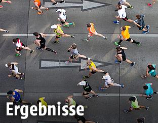 Läufer des Vienna City Marathons