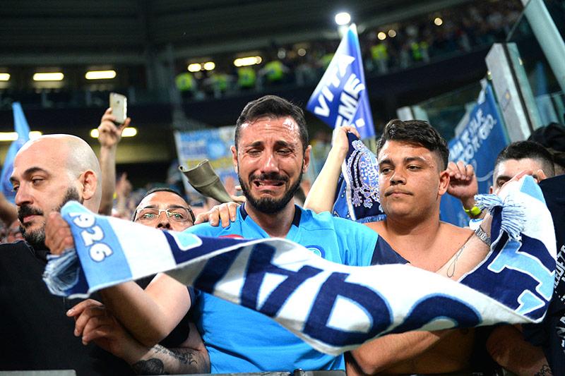 Jubel bei Napoli-Fans