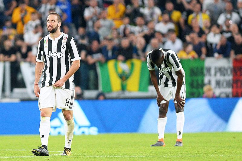Enttäuschung bei Juventus