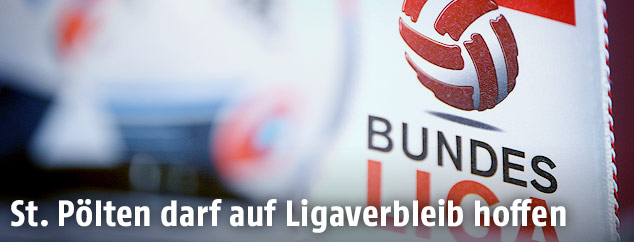 Bundesliga-Logo und Fussball