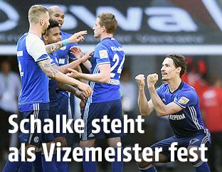 Jubel von Schalke