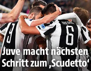 Jubel von Juventus