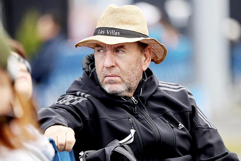 Trainer Günter Bresnik