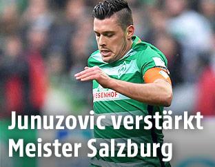 Zlatko Junuzovic im Werder-Bremen-Dress