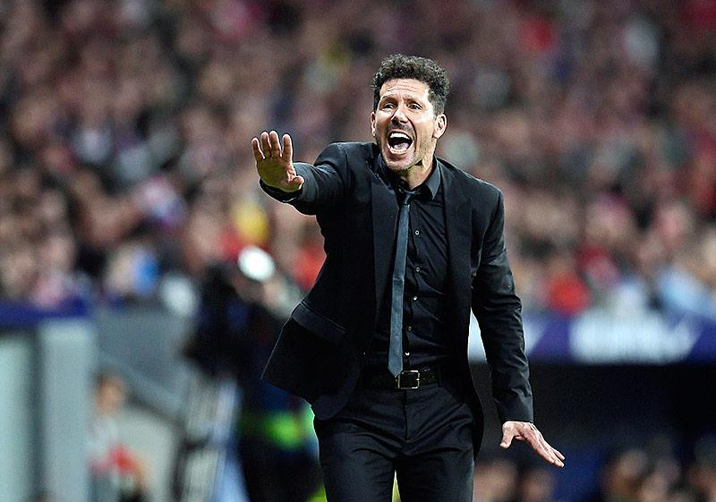 Diego Simeone, Trainer von Atletico Madrid