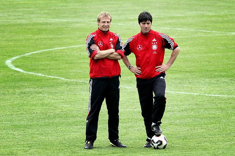 Juergen Klinsmann und Joachim Löw, 2005