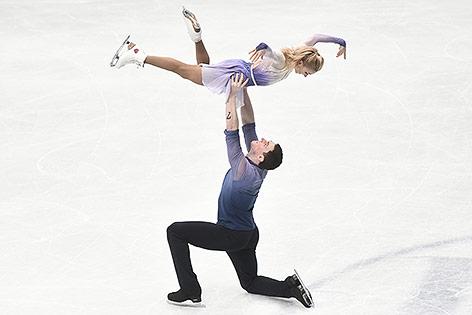Aljiona Savchenko und Bruno Massot