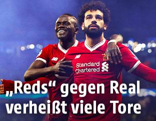 Mohamed Salah und Sadio Mane
