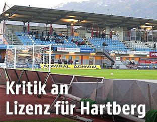 Fußballstadion in Hartberg