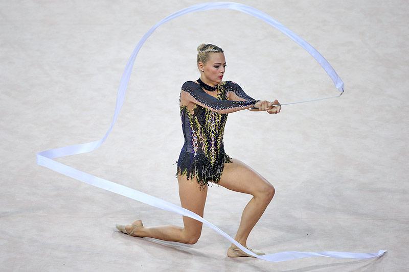 Die rhythmische Gymnastin Nicol Ruprecht