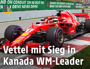 Sebastian Vettel beim Grand Prix in Canada
