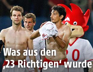 Österreichische Spieler bei der EM 2008