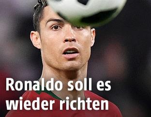 Portugals Cristiano Ronaldo