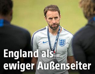 Trainer Gareth Southgate (ENG)