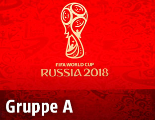 Logo der WM 2018 in Russland