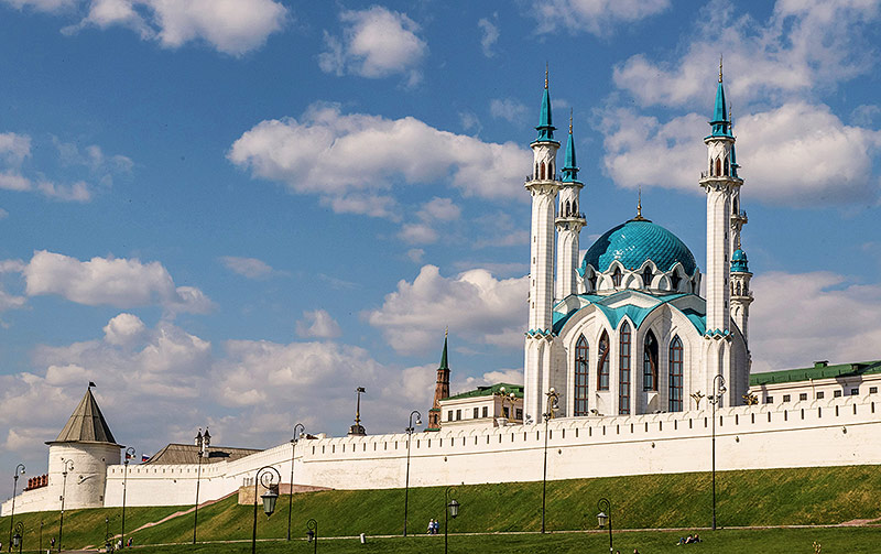 Der Kasaner Kreml in Kasan