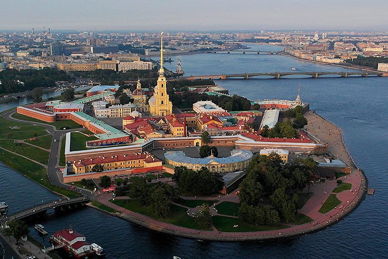 Peter-und-Pauls-Festung in Sankt Petersburg