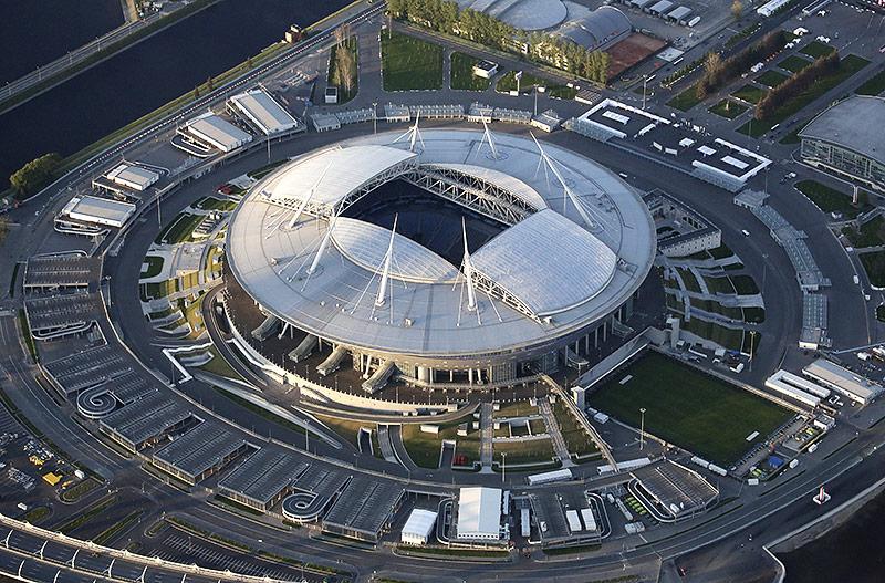 Das Sankt Petersburg Stadion