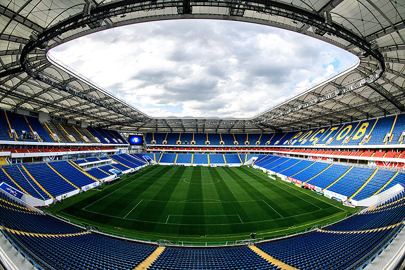 Die Rostov Arena in Rostow am Don