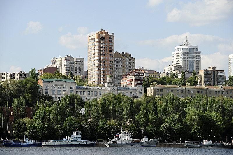 Stadtansicht von Rostov am Don