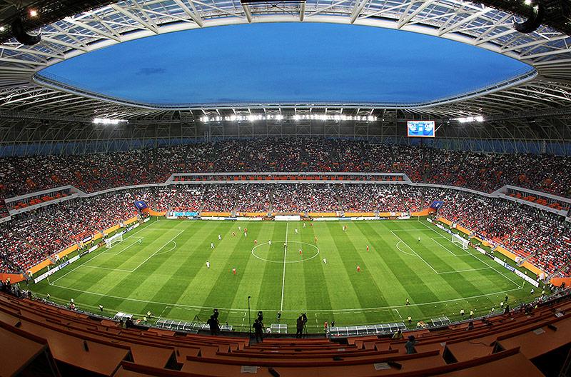 Die Mordovia Arena in Saransk