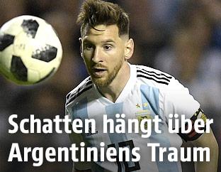 Fußballer Lionel Messi (ARG)
