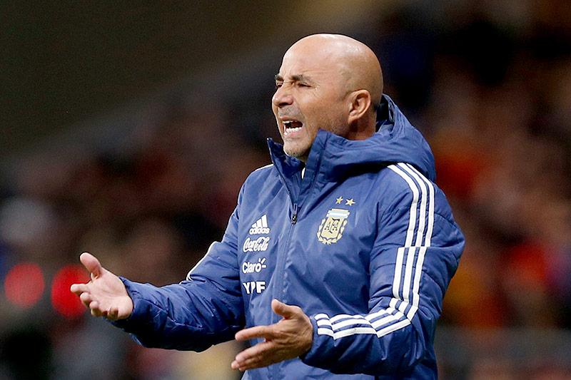 Argentiniens Teamchef Jorge Sampaoli