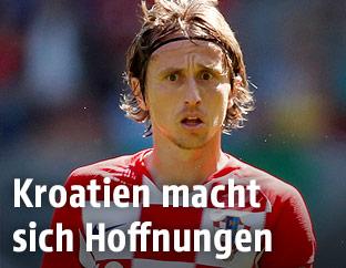 Kroatiens Luka Modric