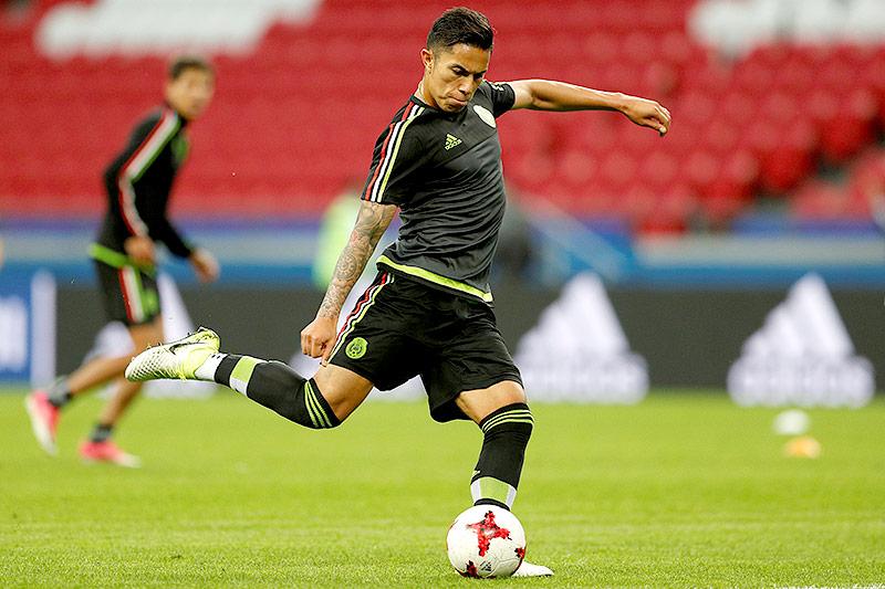 Mexikos Carlos Salcedo im Training
