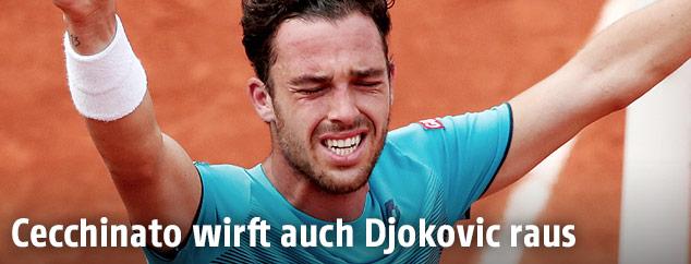 Der italienische Tennisspieler Marco Cecchinato