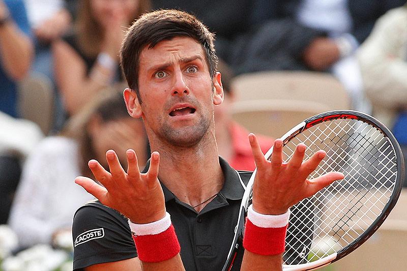 Novak Djokovic ist enttäuscht