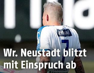 Enttäuschter David Harrer (Wiener Neustadt)