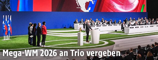 Präsentation bei FIFA-Kongress