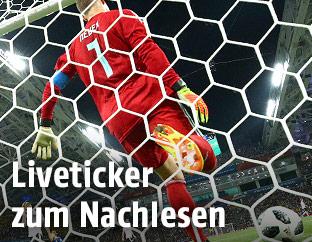 Manuel Neuer im Tor