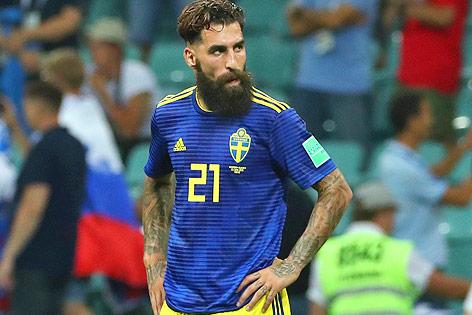Der schwedische Teamspieler Jimmy Durmaz
