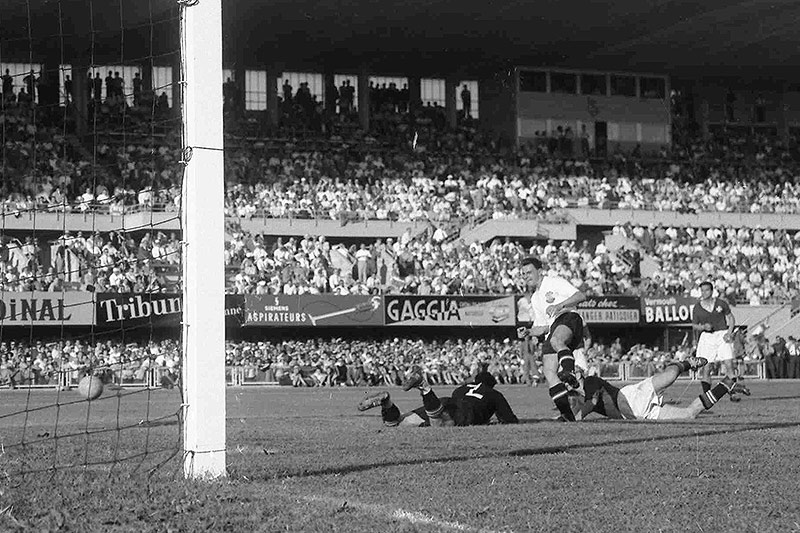 Theodor Wagner bei der WM 1954