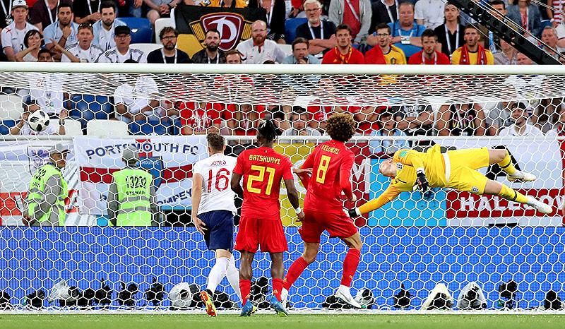 Tor von Adnan Januzaj (Belgien) gegen England