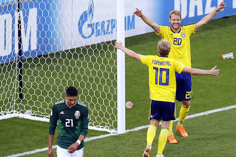 Schweden jubeln