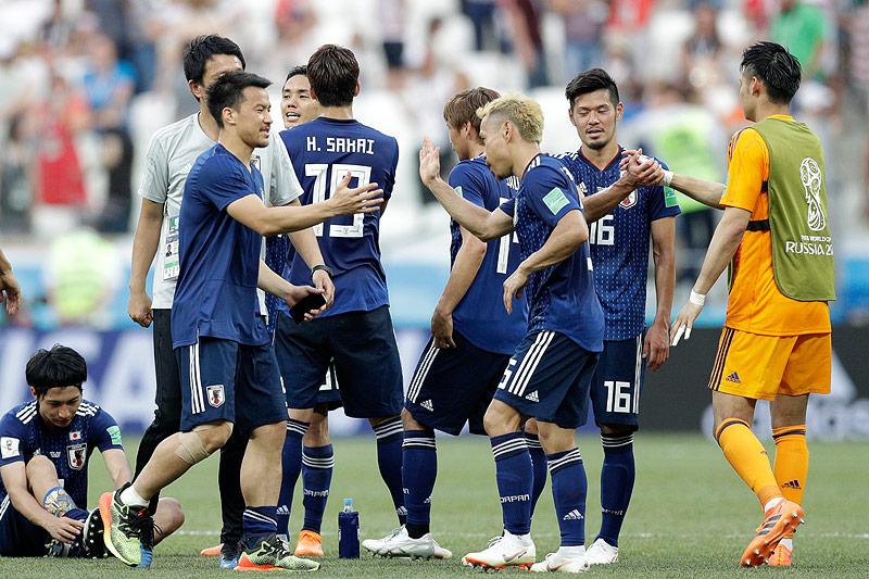 Spieler der japanischen Nationalmannschaft