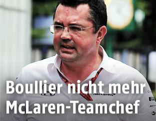 McLaren-Honda-Chef Eric Boullier