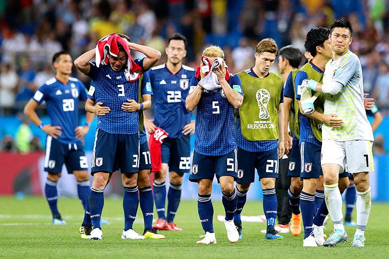 Enttäuschung bei Japan