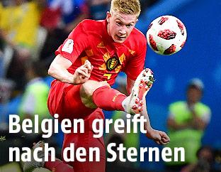 Belgischer Mittelfeldspieler Kevin De Bruyne