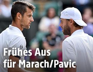 Mate Pavic und Oliver Marach