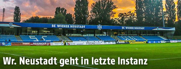 Stadion in Wiener Neustadt