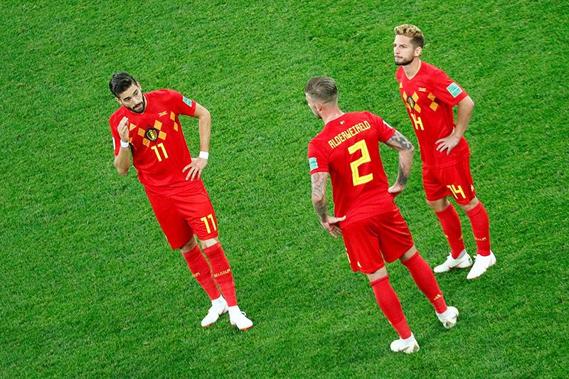 Enttäuschung bei Belgien