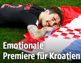 Jubel bei Kroatien