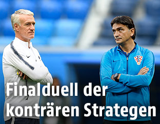 Deschamps, Dalic