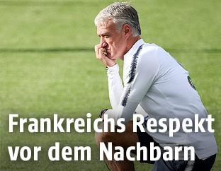 Frankreichs Trainer Didier Deschamps